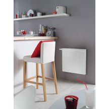 Radiateur horizontal habill� r�versible 6 connexions thermostatisable SAMBA type C22 HB 39 �l�ments puissance 2418 Watts R�f CZ235U739