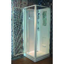 cabine de douche concerto 90 x 90 cm acc s de face porte pivotante alterna sanitaire brossette. Black Bedroom Furniture Sets. Home Design Ideas