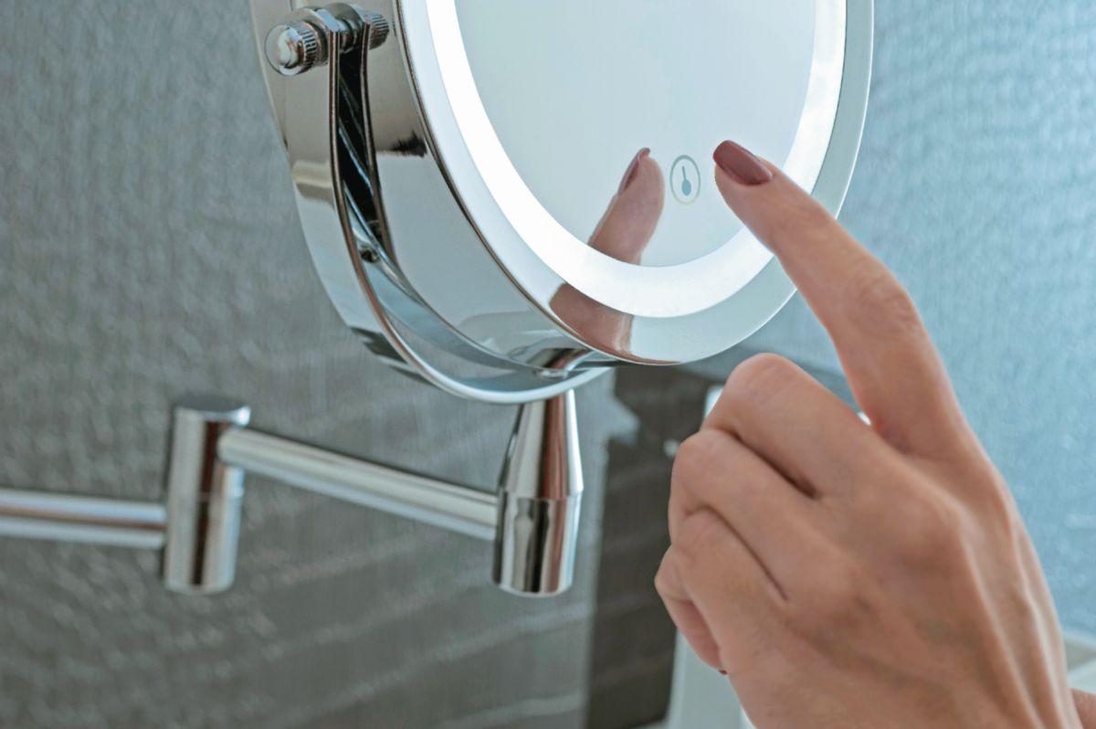 Miroir Electra Diamètre 175 40 X 420 X 310 Réf P055986 Pradel