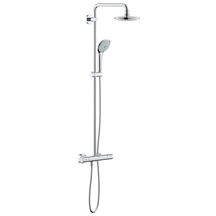 Colonne de douche EUPHORIA System thermostatique, saillie 390 mm, chromé Réf 27420001