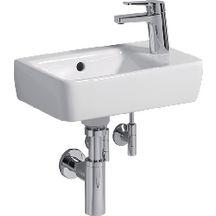 lave mains odeon up 40x25 perc gauche blanc r f e4759g00 jacob delafon sanitaire cedeo. Black Bedroom Furniture Sets. Home Design Ideas