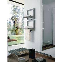 Sèche-serviettes étendoirs relevables BIS eau chaude 545 W étendoirs relevés, 627 W étendoirs abaissés