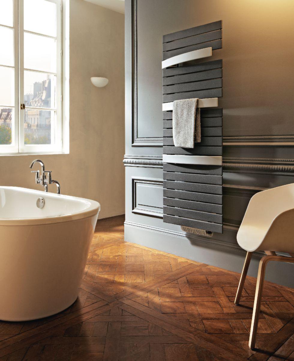 Radiateur sèche-serviettes ARBORESENCE SMART eau chaude acier métal blanc et métal alu 896 W ARSD1960 cmBMA Réf F96A0165060D0B4YI