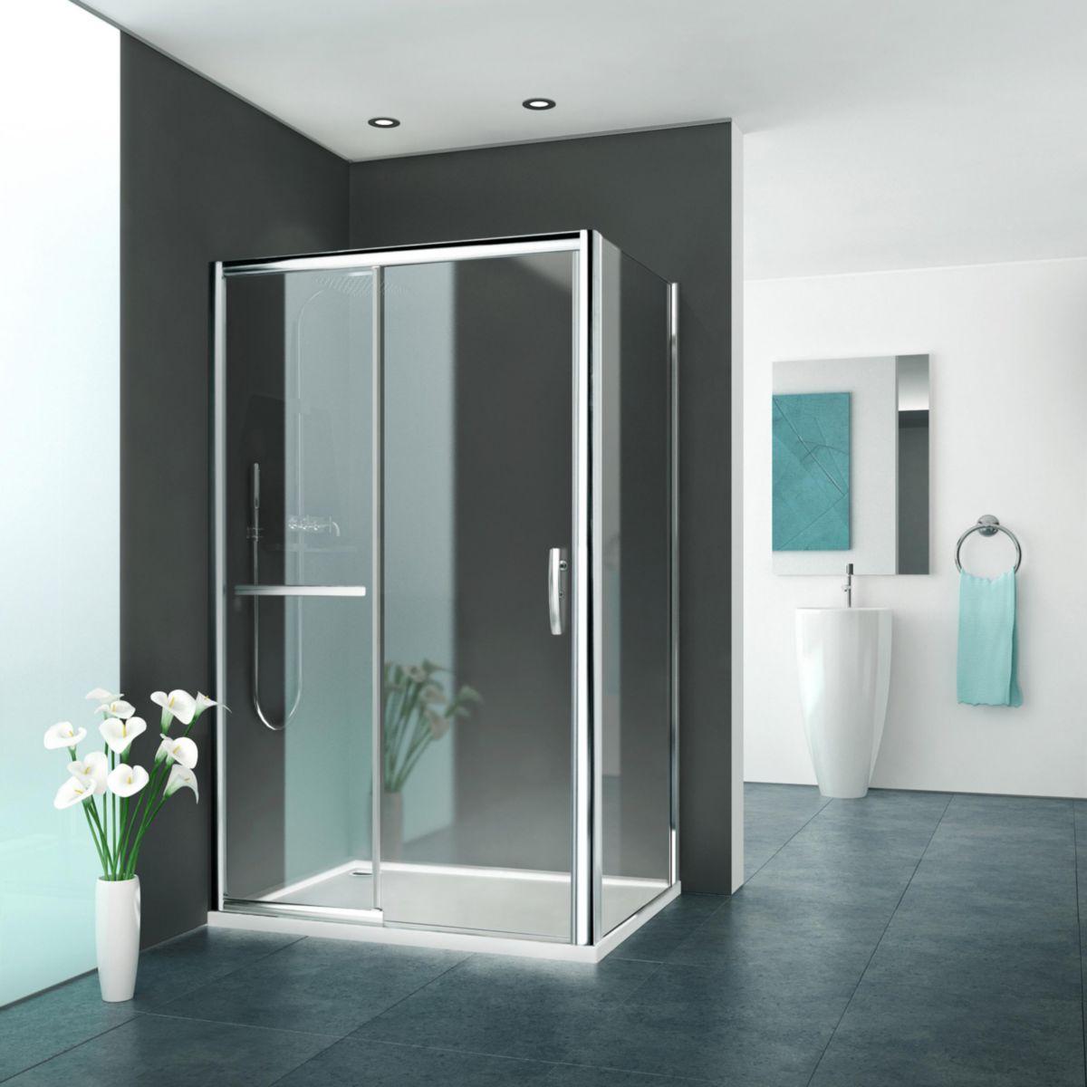 monter une paroi de douche trendy beautiful barre de. Black Bedroom Furniture Sets. Home Design Ideas