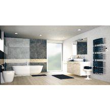 Sèche-serviettes ALLURE électrique 750 W, avec soufflerie + 1 000 W