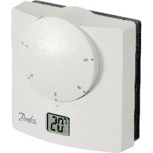 Thermostat �lectronique affichage digital alimentation piles 5 plages de temp�rature RET-B 087N7251