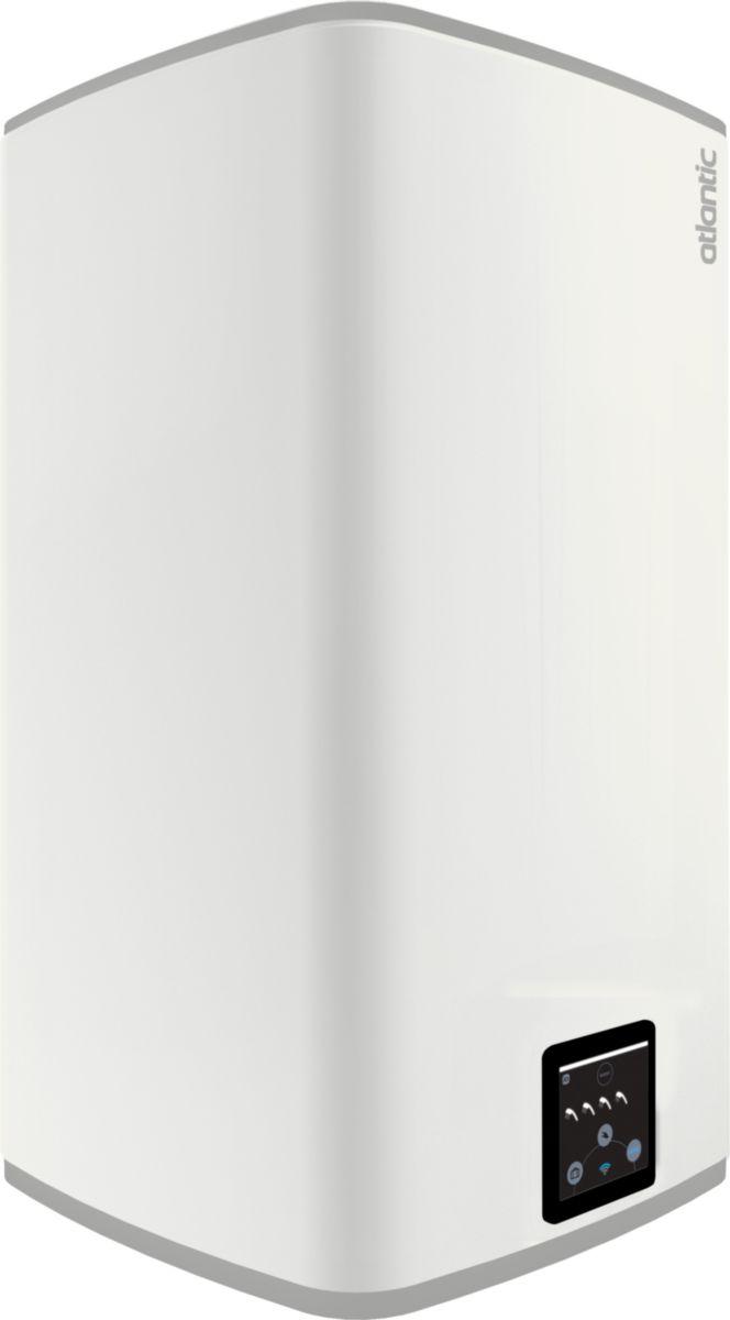 Chauffe-eau électrique à résistance stéatite Lineo connecté vertical blanc 120 l réf. 157212