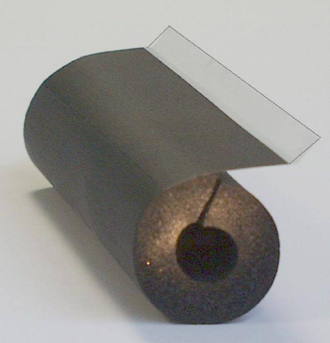 Tube K-Flex ST adhésif à recouvrement NF FEU RT 2005 épaisseur 13 mm diamètre 18 mm réf ST13X018R (classe 2 - conforme RT 2012)