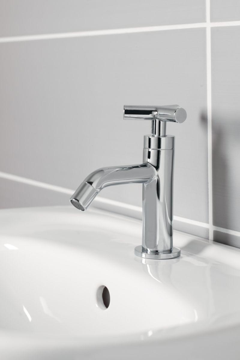 Robinet lave mains DESIGN Croix eau froide