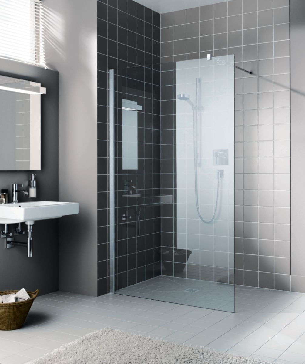 pose porte de douche simple cabine de douche leda izibox x quart de rond with pose porte de. Black Bedroom Furniture Sets. Home Design Ideas