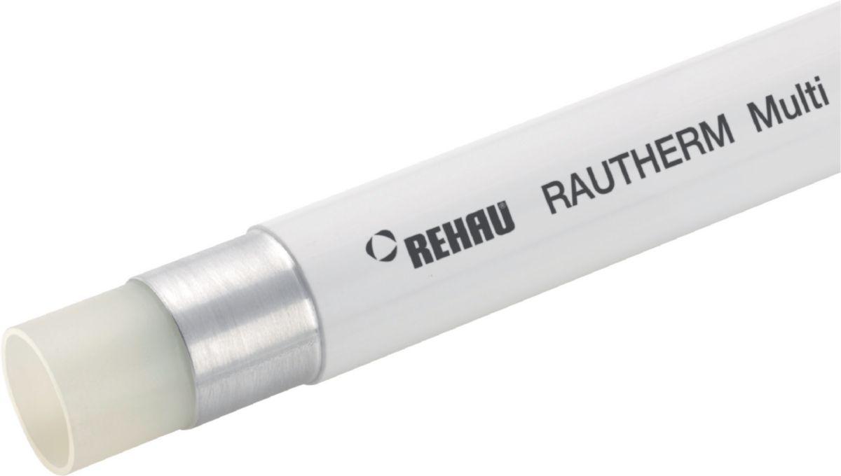 Tube RAUTHERM Multi diamètre 20x2,25 couronne 100m Réf 13680151100