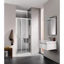 coulissante 3 ventaux parois de douche douche sanitaire cedeo. Black Bedroom Furniture Sets. Home Design Ideas