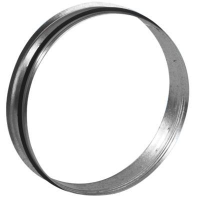 Piquage a plat galvanise a joints veloduct d200 mm Réf.864530