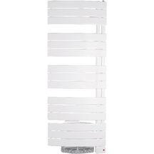 Sèche Serviettes NEFERTITI Mixte Avec Ventilo 1750W Blanc Largeuur 555mm  Hauteur 1450mm Réf 851717