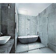 Carreau sol intérieur ciment CIGR01 - gris clair - 20x20 cm