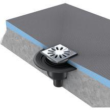 receveurs carreler l 39 italienne douche sanitaire brossette. Black Bedroom Furniture Sets. Home Design Ideas