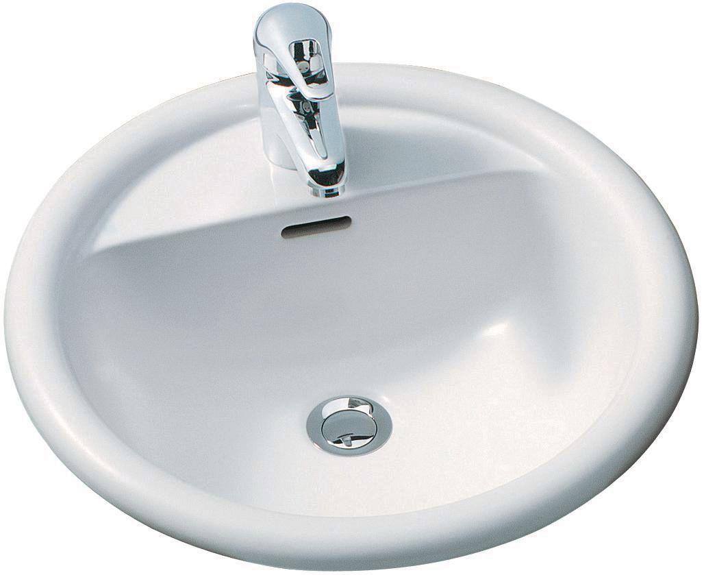 Vasque à encastrer FLORA ronde