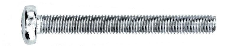 Vis métal acier zingué 6X60 boîte de 100 Réf. NOV95994