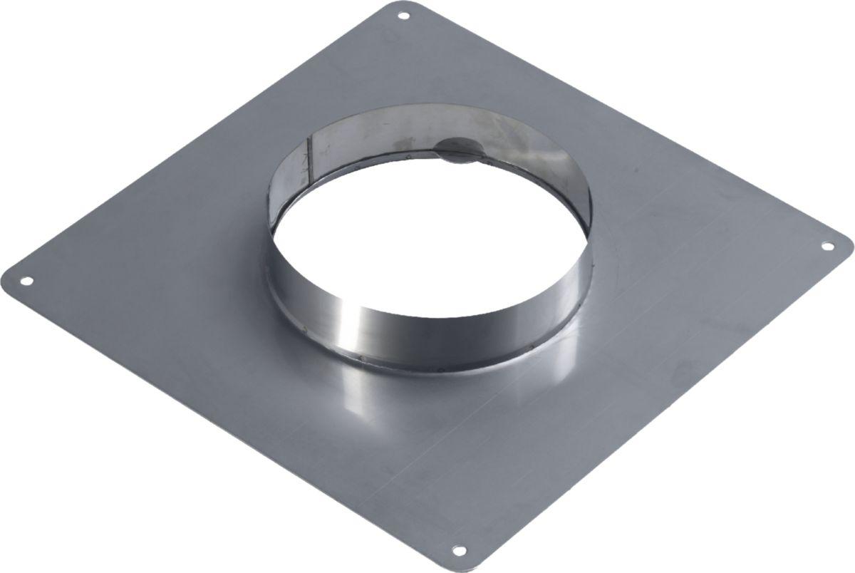 Plaque étanchéité H inox 155 / 161 réf. 096155