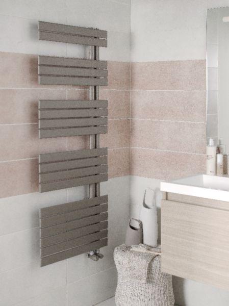 Sèche-serviettes asymétrique eau chaude CONCERTO 474W