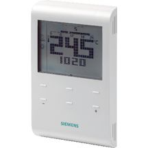 Thermostat d'ambiance programmable hebdo alimentation secteur R�f RDE100 / S55770-T278