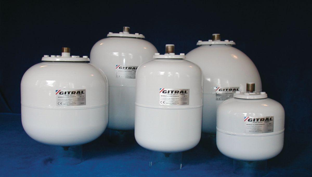 Vase d'expansion sous pression FLEXCON 300 litres 1,5 bars réf. 16303