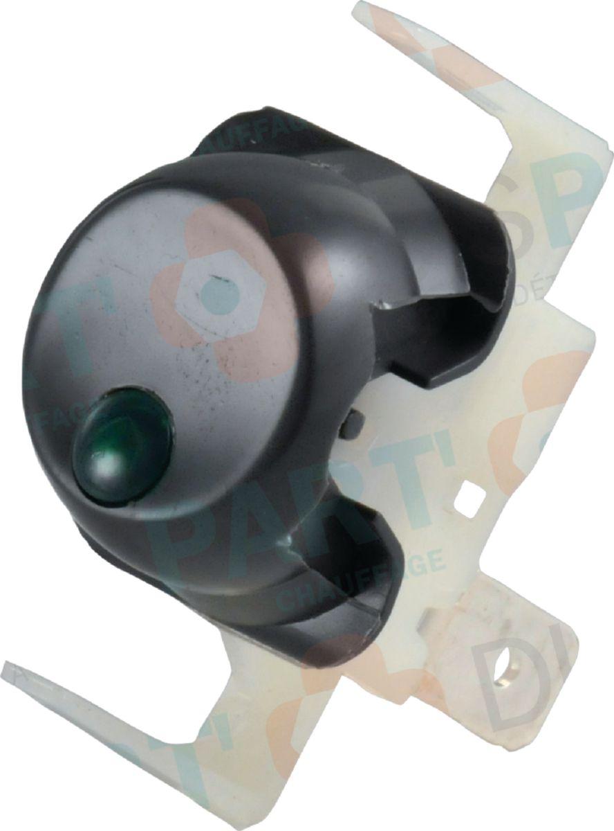 Interrupteur unipolaire à voyant 2000 Réf. F3AA40523