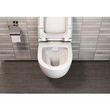 pack wc suspendu daily o2 avec abattant frein de chute declipsable alterna sanitaire cedeo. Black Bedroom Furniture Sets. Home Design Ideas