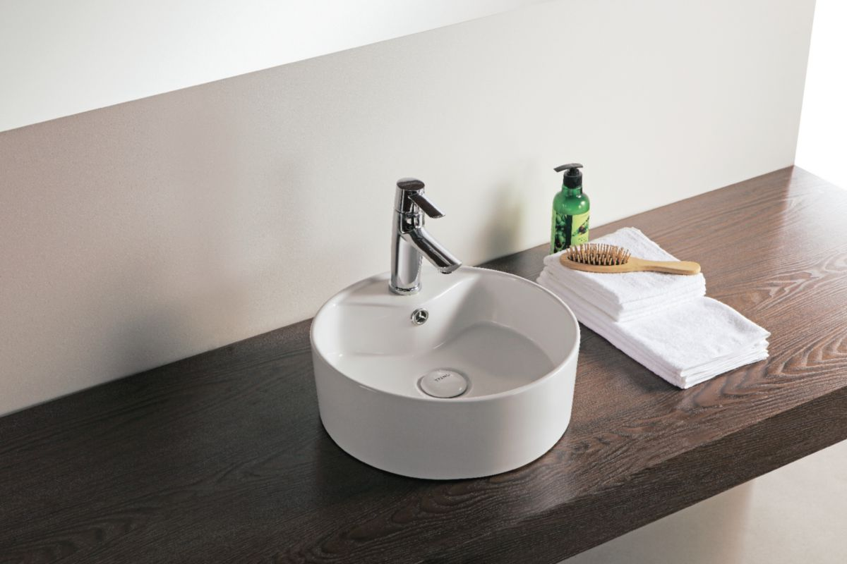 Awesome vasque a poser design photos awesome interior for Salle de bain design avec lavabo suspendu