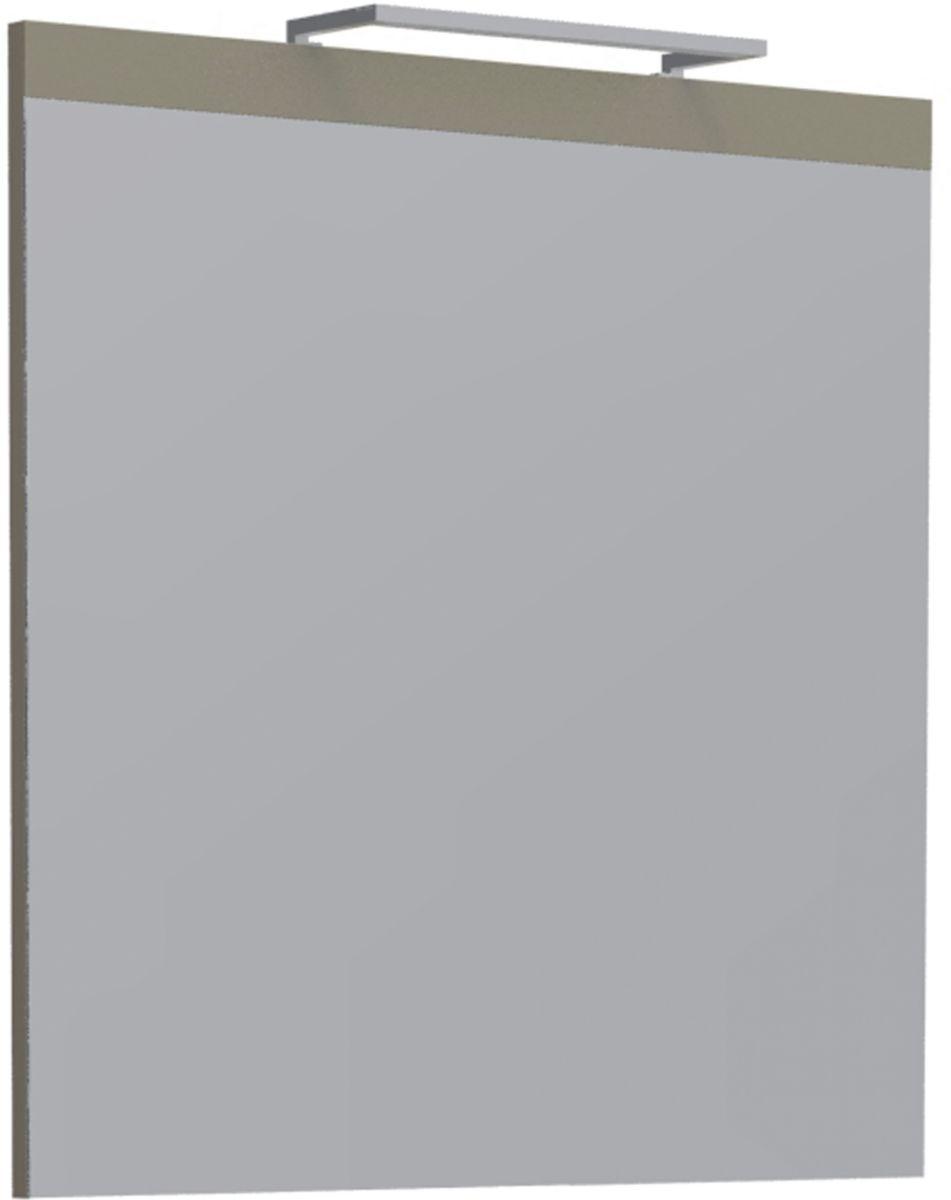 Miroir PLENITUDE déco 70 cm Argile noire