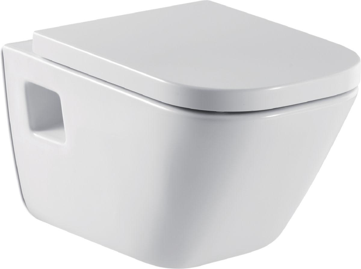 roca cuvette wc suspendue the gap blanc r f a346477000 cedeo. Black Bedroom Furniture Sets. Home Design Ideas