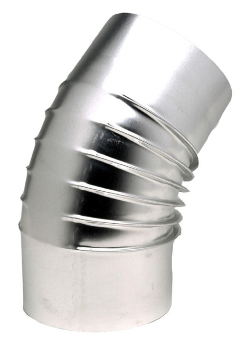 Coude 45° Aluminium diamètre : 97 réf. 394970