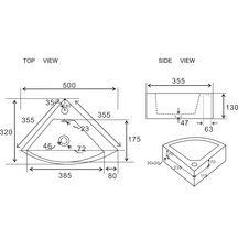 lave main d 39 angle concerto alterna sanitaire cedeo. Black Bedroom Furniture Sets. Home Design Ideas