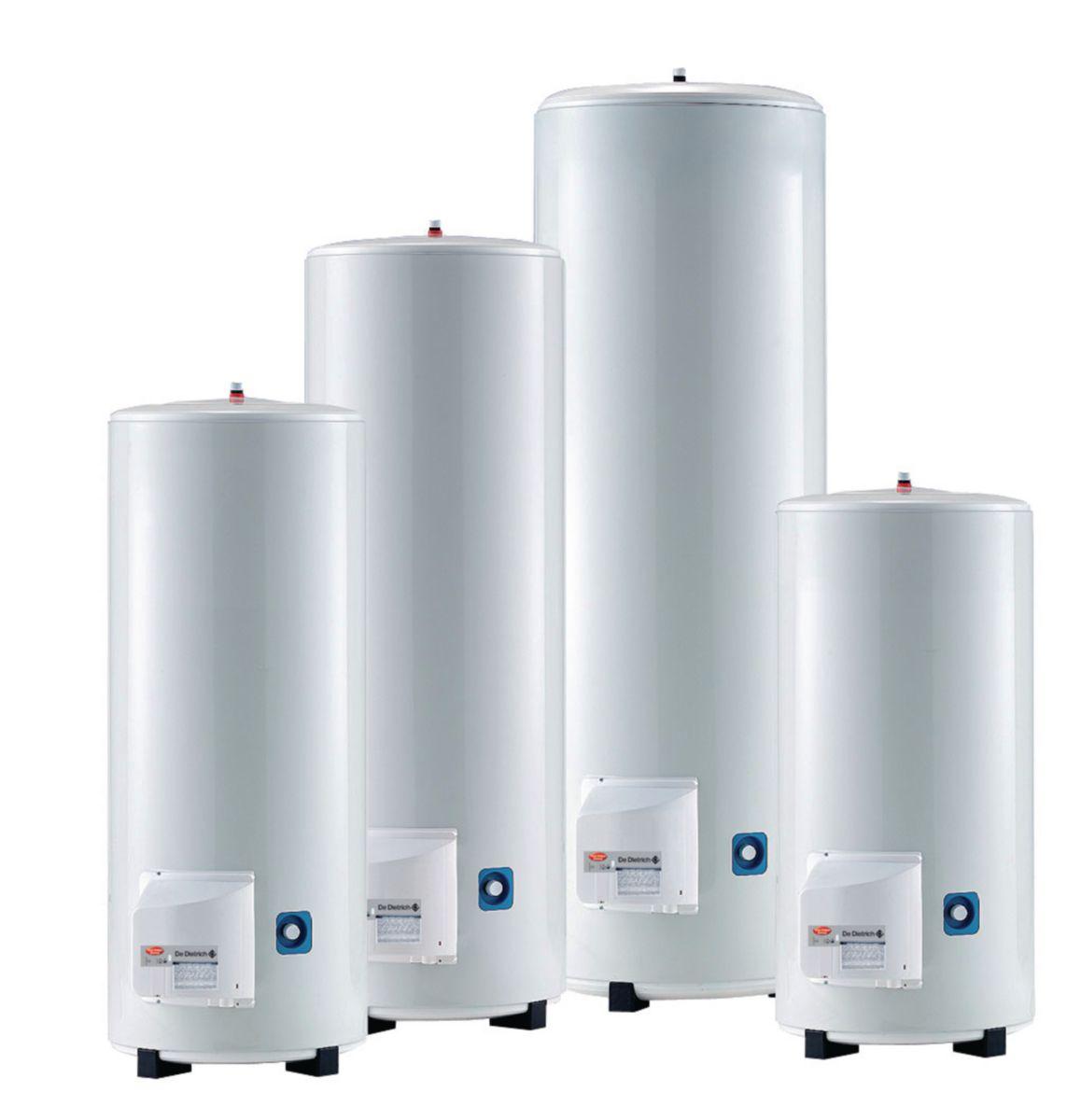 Chauffe-eau électrique sur socle monophasé COR-EMAIL THS+ de 250 litres classe énergétique C réf. 7605043