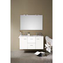 Meubles et accessoires de salle de bain sanitaire for Meuble 2 tiroirs 60 cm woodstock