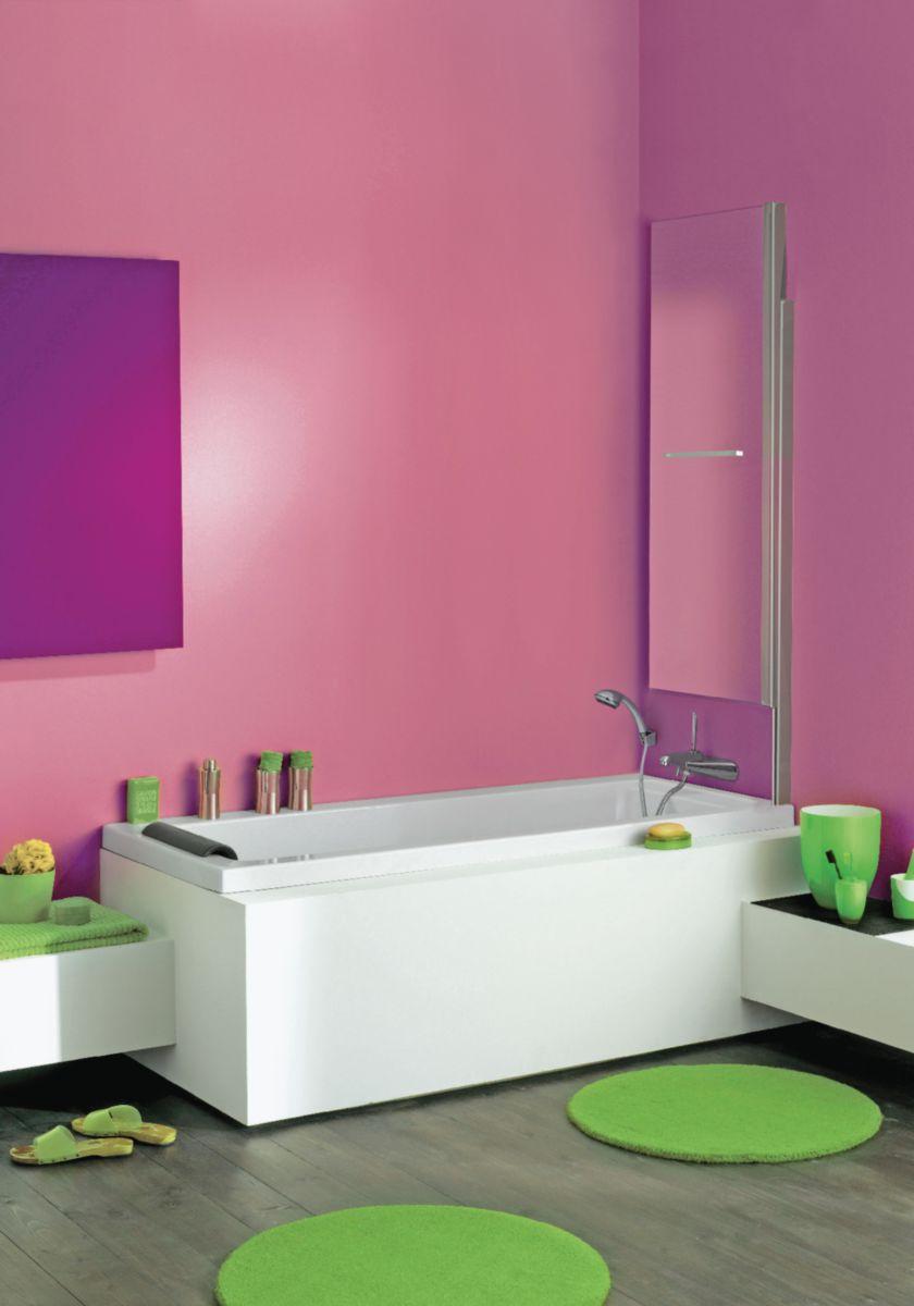 Pare-bain ILOA bord carré, pivotant 180°, relevable