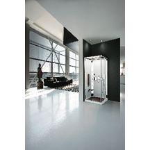 Cabine de douche accès d'angle hammam NEXIS A90
