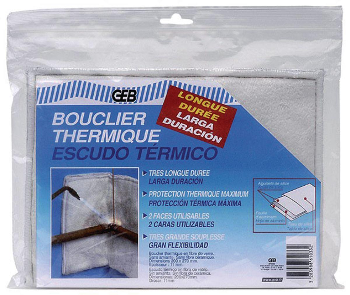 Thermodernisate Vinyle Bouclier super-h/éros