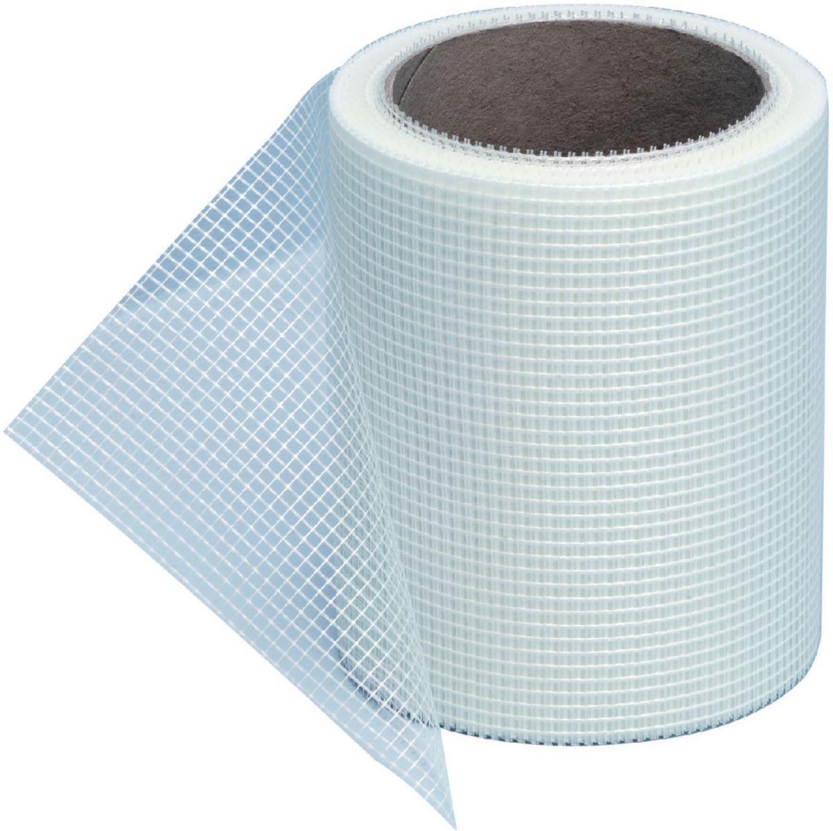 Treillis fibre de verre sous carrelage - Câble électrique cuisinière vitrocéramique
