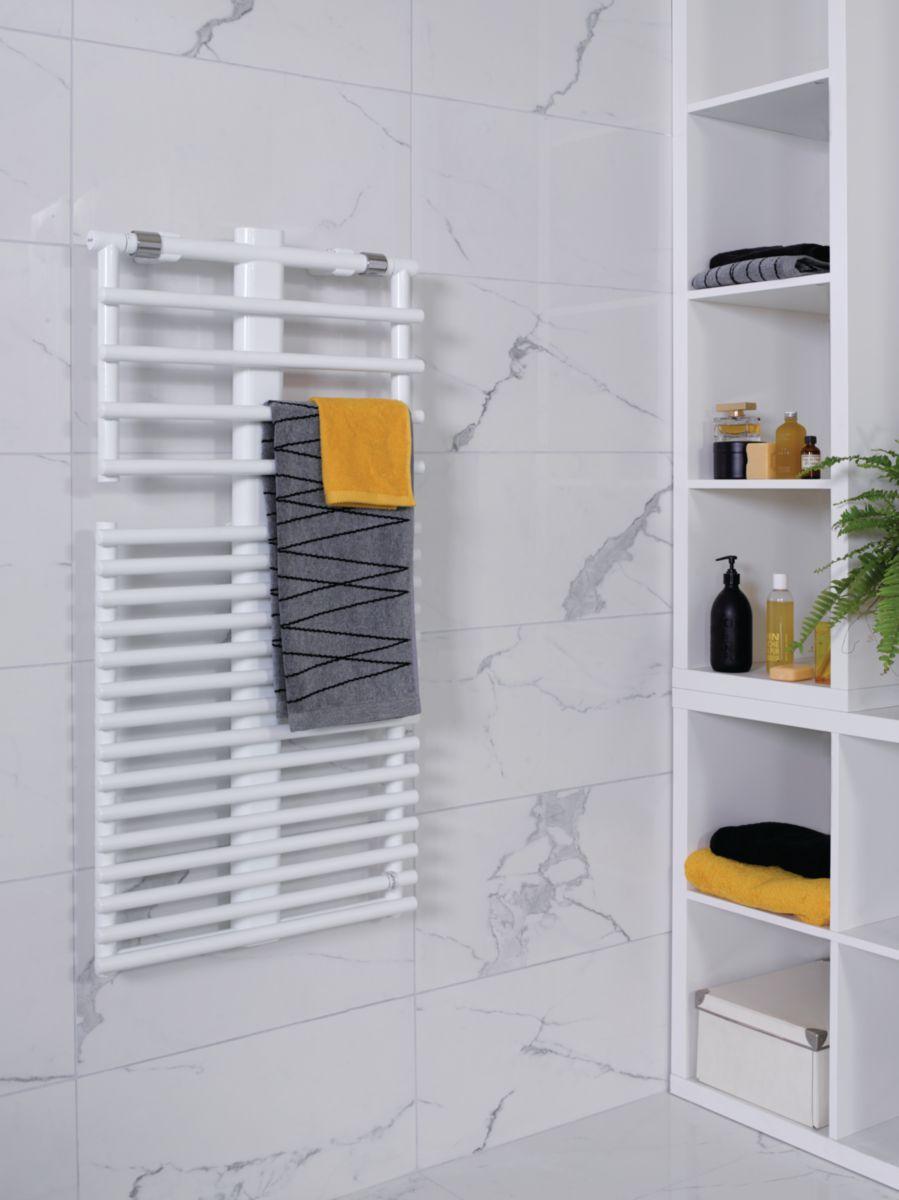 Puissance Radiateur Eau Chaude Salle De Bain ~ radiateur s che serviettes eau chaude stand up simple 535 w 1076 x
