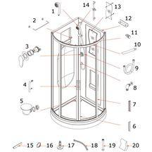 douches pi ces de rechange sanitaire pi ces de rechange cedeo. Black Bedroom Furniture Sets. Home Design Ideas
