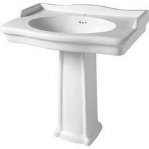 Colonne pour lavabo Antica blanc