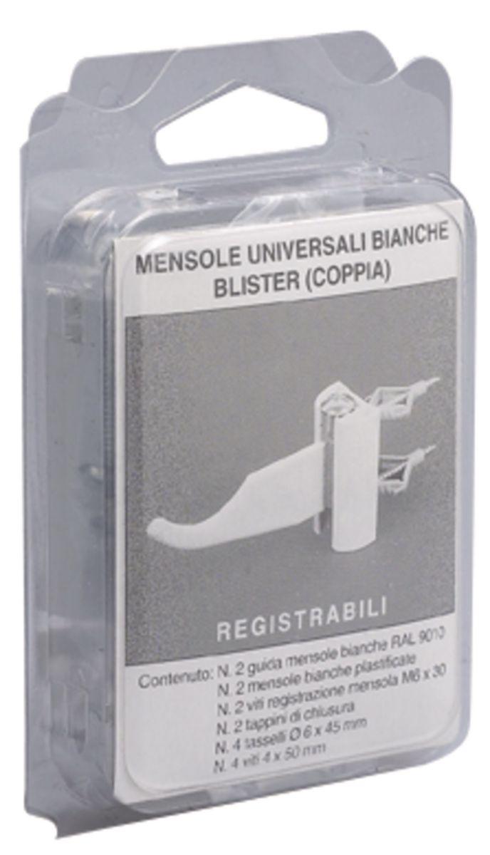 Kit de fixation radiateur alu réglable réf. 6004706
