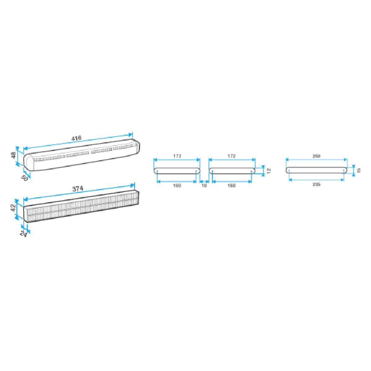 Kit air filter 30 blanc-white Réf 11011585