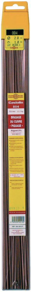 Baguette 804 brasage du cuivre argent 2% D2 1kg Réf. 651127