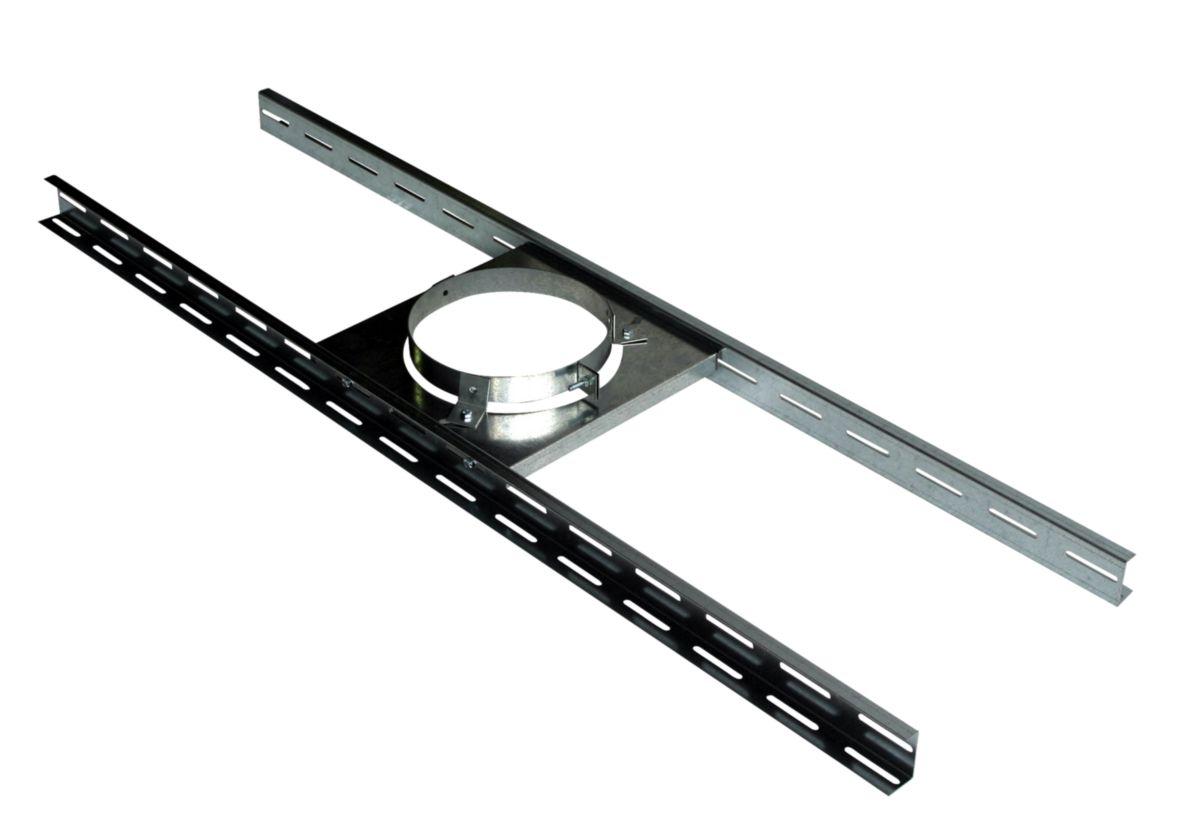Support sur plancher THERMINOX TI diamètre 200 mm SP200TZ / réf. 20200081