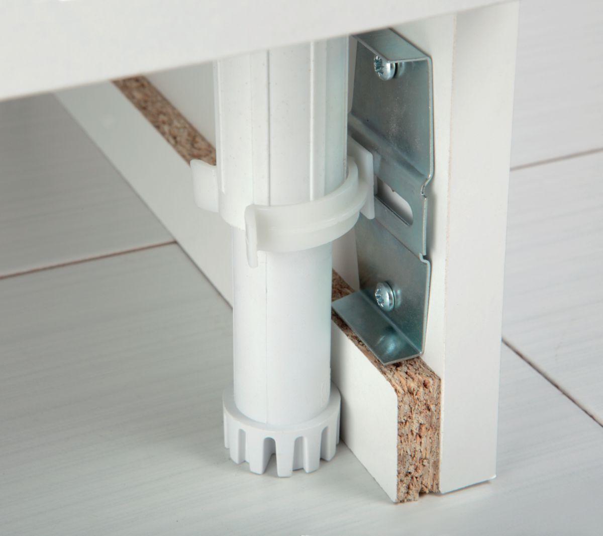 aquarine meuble sous vier azur 120 x 58 6 x 82 cm 3. Black Bedroom Furniture Sets. Home Design Ideas