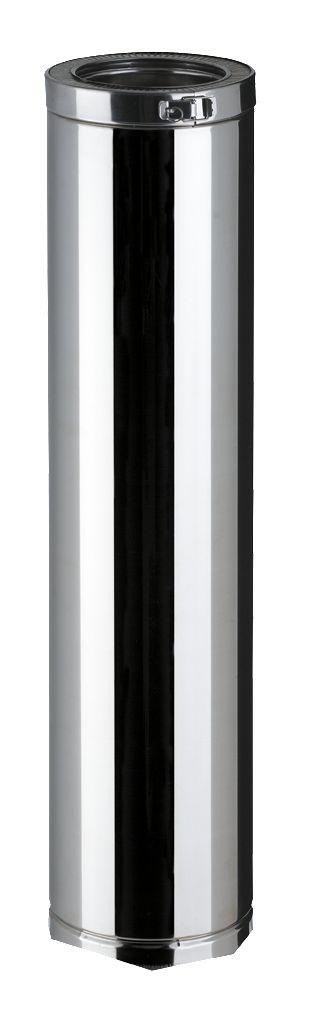Elément droit THERMINOX TI, diamètre 180 mm, Lg: 100 cm ED 1000 180 TI / réf. 21180005