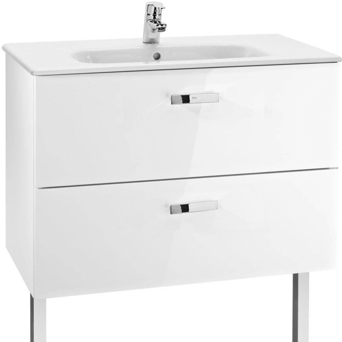 Meuble vasque salle de bain cedeo cheap meuble de salle for Meuble vasque roca