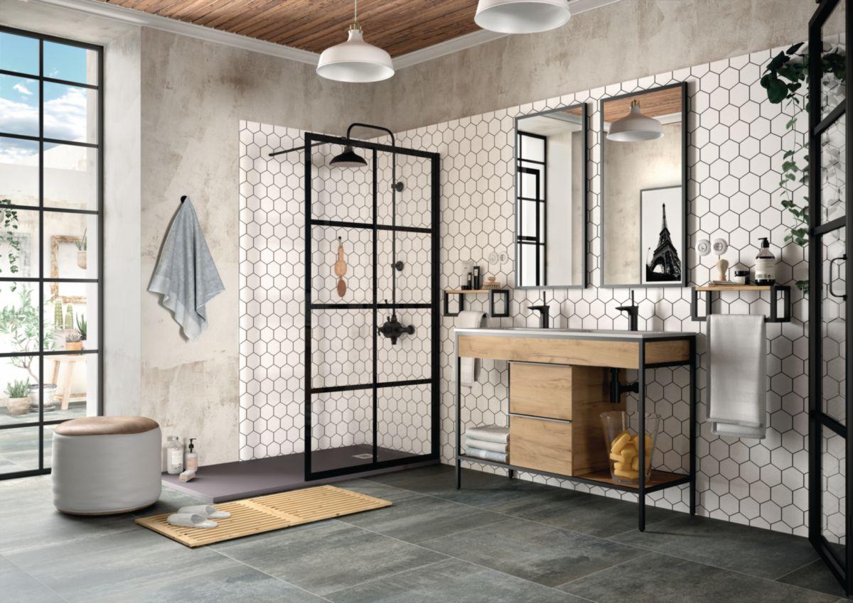 Meuble Salle De Bain Largeur 100 meuble salle de bain vinci 121 cm   envie de salle de bain